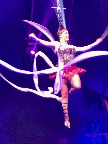 Cirque Italia Water Circus performers ready for shows