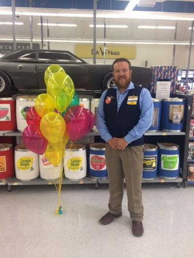McAlester Walmart Supercenter Manager Cody Knight Prepares For The Childrens Miracle Network Fun Fridays Events Store Will Host To Raise Money