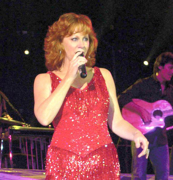 Fancy this: A Reba statue in Downtown McAlester