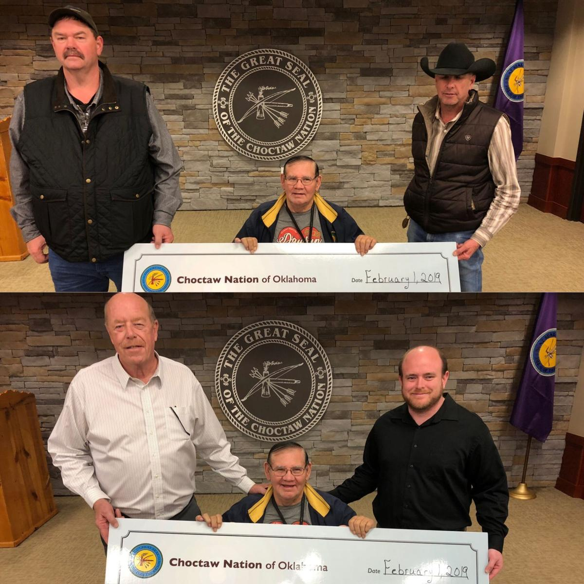 Choctaw Nation donates more than $16,500 to city, county