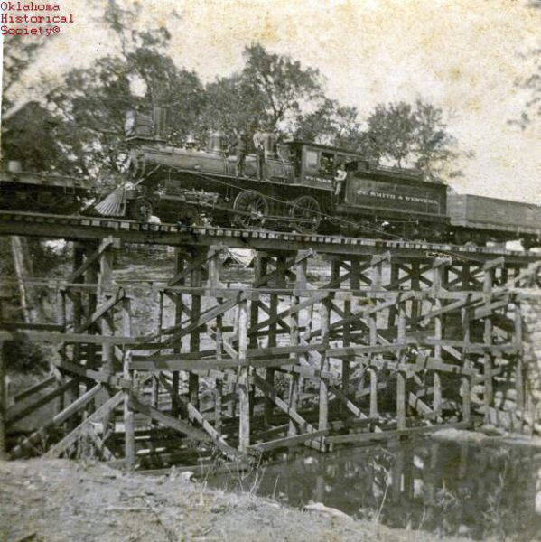 """CATHEY: """"The Old Foot Sore and Weary"""" – the Oklahoma Cotton Train"""