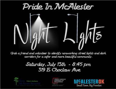 5 THINGS TO KNOW: Pride in McAlester Night Lights volunteer day