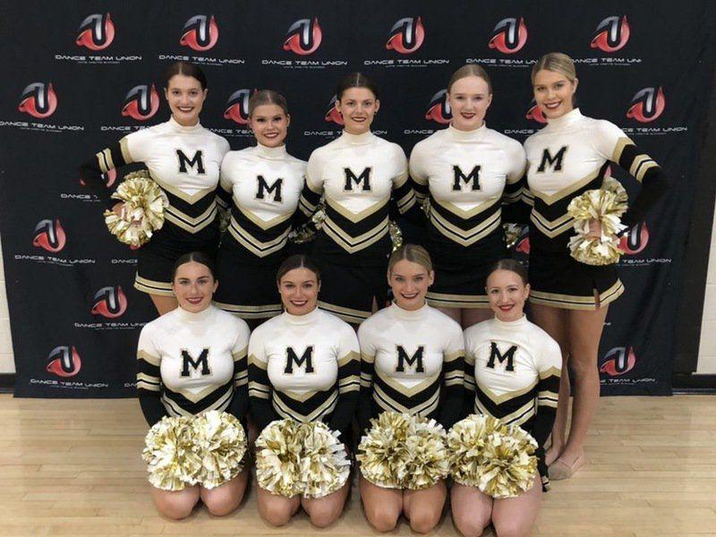 McAlester pom team excels at regional