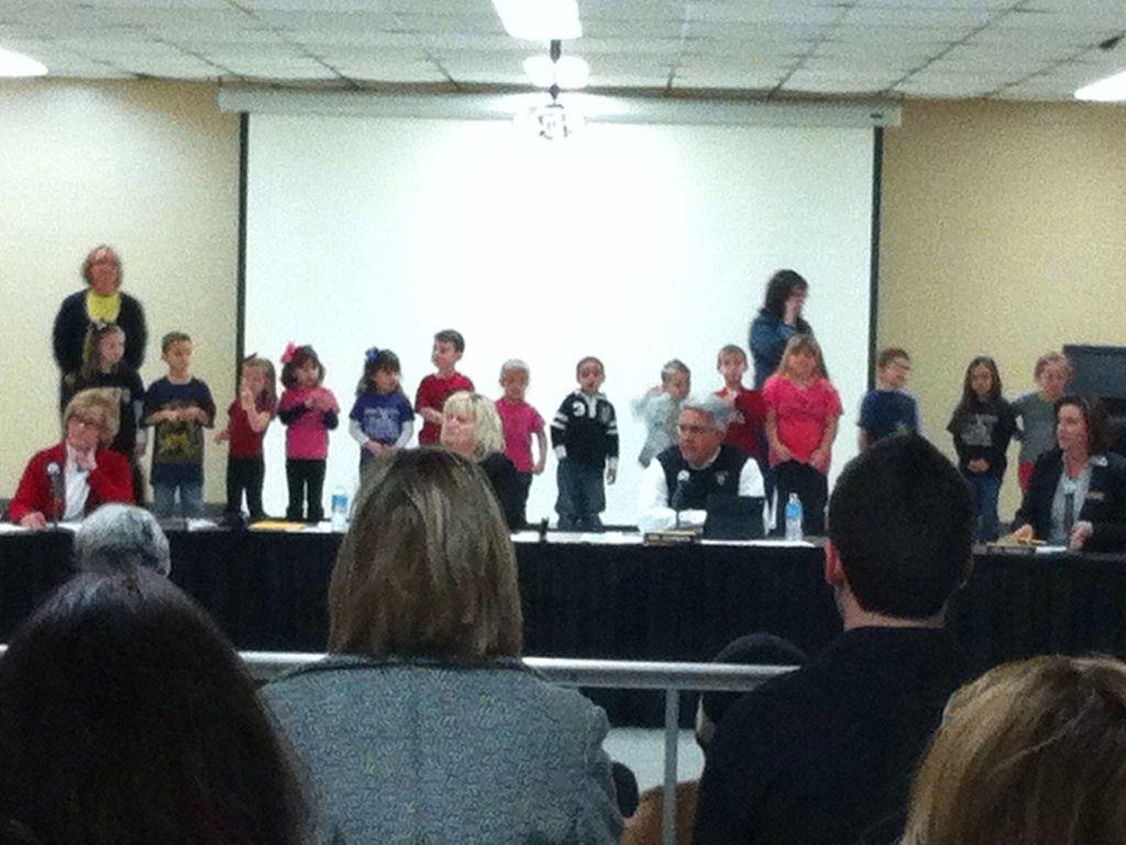 BOARD OF EDUCATION: Jefferson Elementary represents in spite