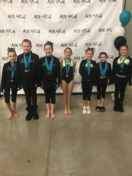 MEGA competes at Aim High Academy Dream Meet