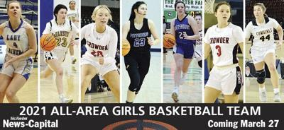 The 2021 McAlester News-Capital All Area Girls Basketball Team