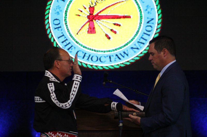 'Stand firm': Choctaw chief reiterates gaming stance at annual address