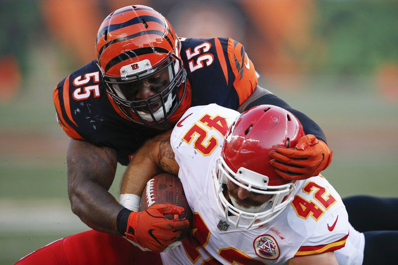 Bengals LB Burfict suspended 5 games for egregious hit