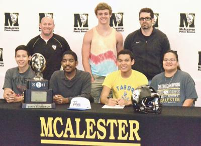 Allen Woodmore signs with Tabor College