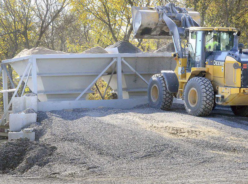 Pittsburg County's asphalt plant begins production