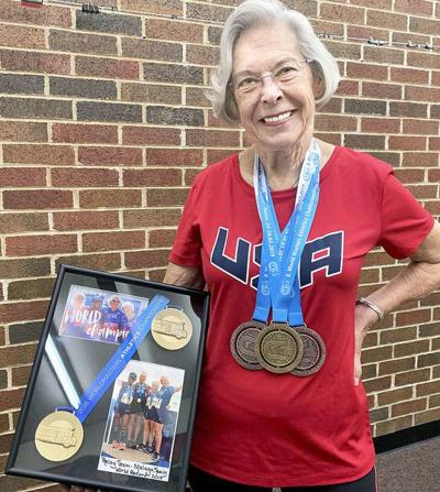 Calvin resident sets world record with USATF