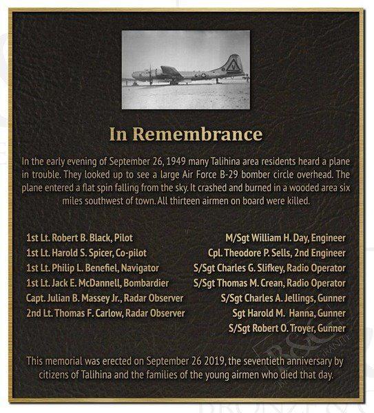CATHEY: B-29 bomber crash near Talihina remembered 70 years later