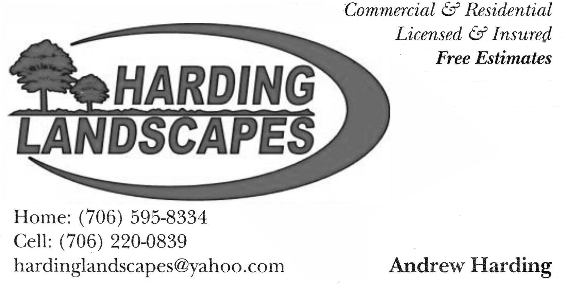 HARDING LANDSCAPES