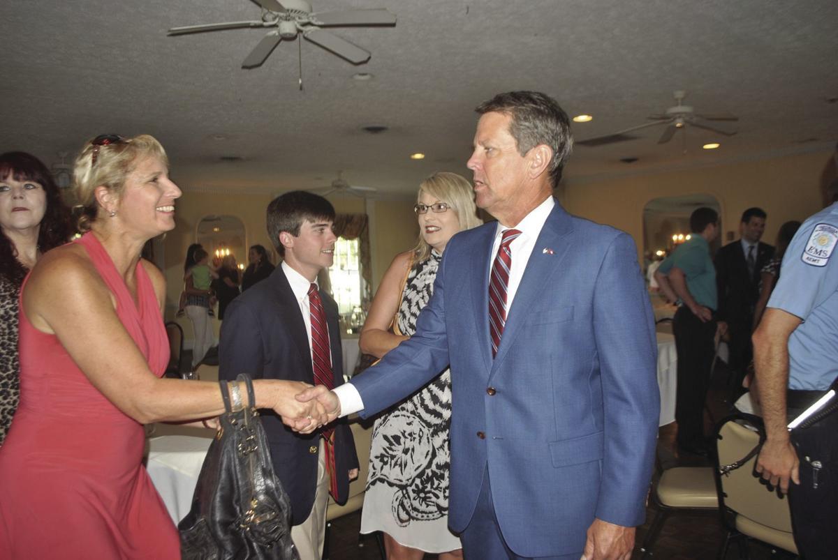 Kemp visits McDuffie