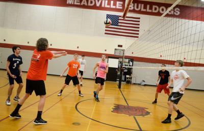Meadville vb practice
