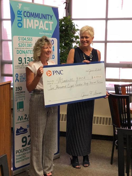 Meadville Family YMCA receives $10,500 in Kindergarten