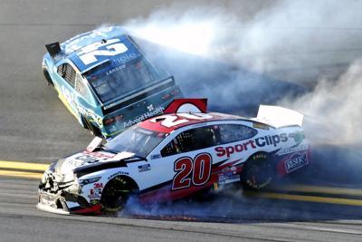 APTOPIX NASCAR Daytona Busch Clash Auto Racing