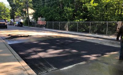 Baldwin Street repairs
