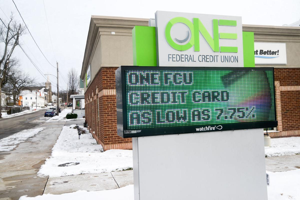 ONE FCU electronic message center