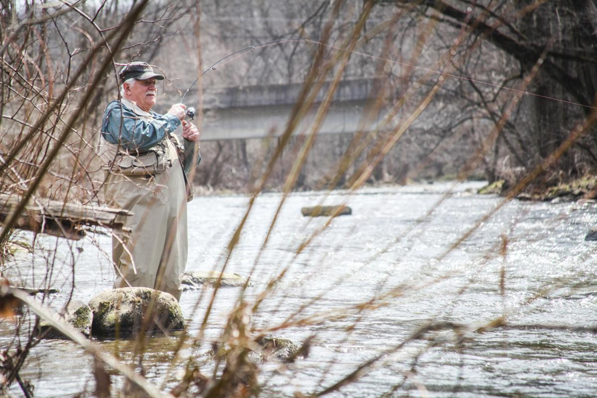 First Day Of Trout Season Yields Fun And Fish News