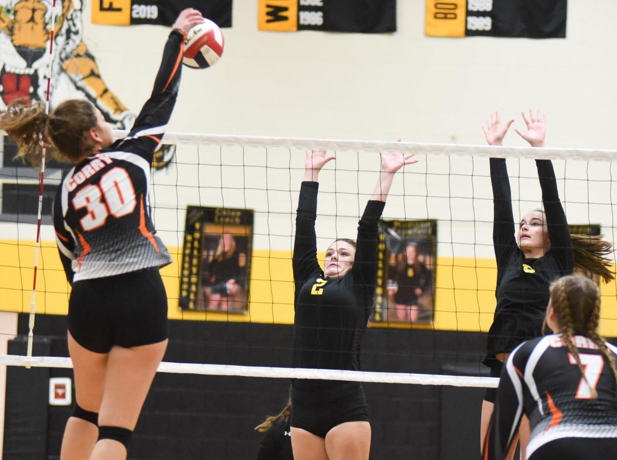 D-10 Girls Volleyball Championships - Maplewood vs. Corry