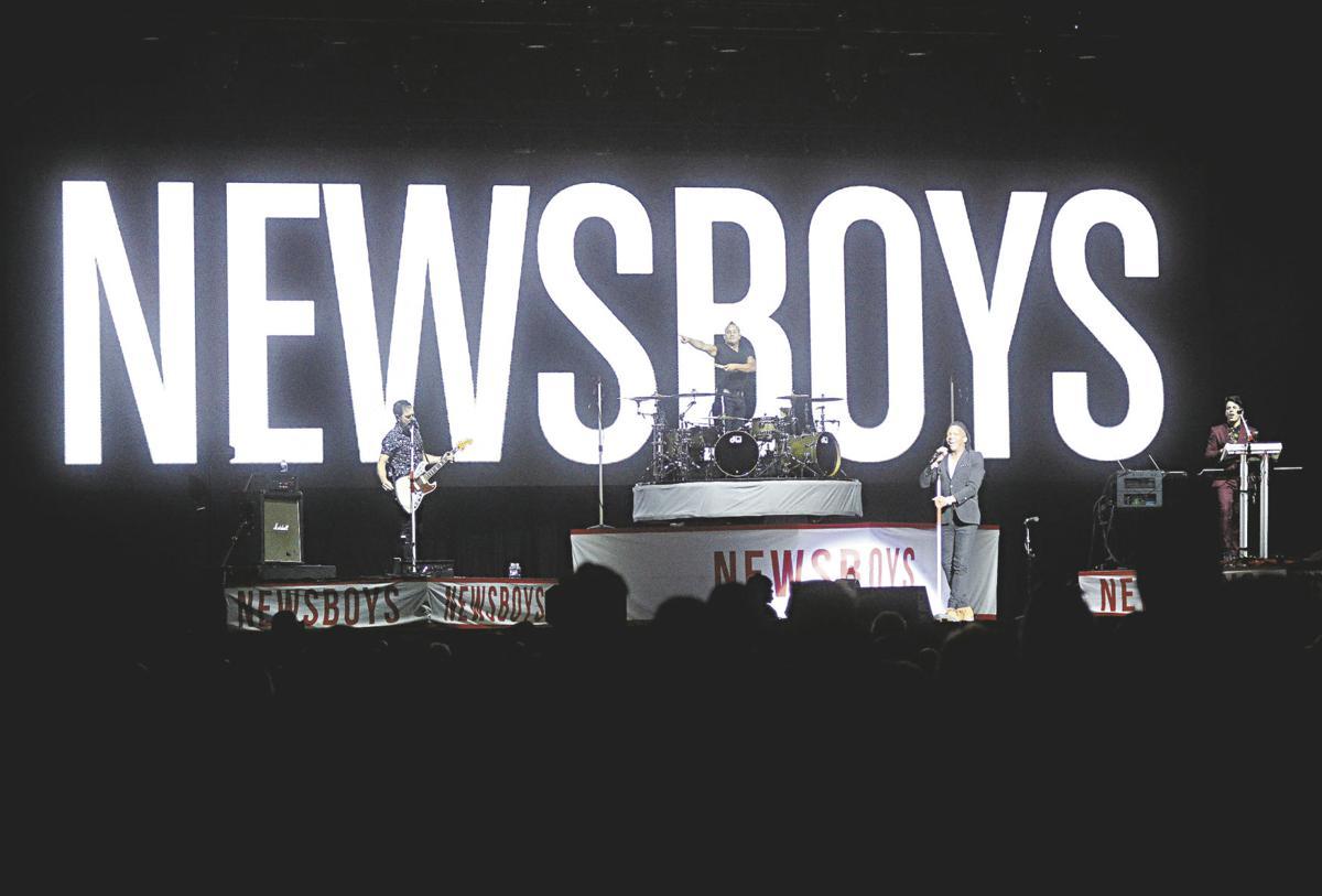 Newsboys provide 'amazing,' 'powerful' county fair concert