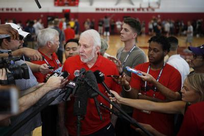 BASKETBALL: Popovich gets his turn at leading USA Basketball