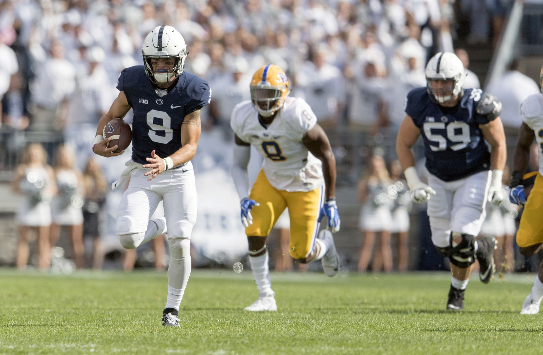 Penn State defeats Iowa with walk-off Trace McSorley touchdown