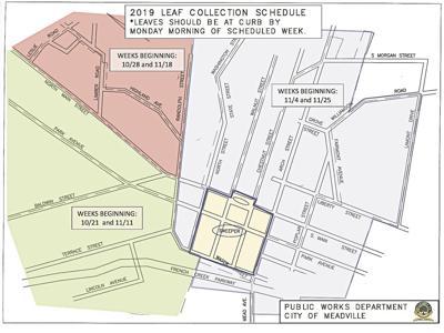 2019 Meadville leaf pickup