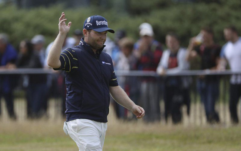 Grace shoots first 62 in major championship history