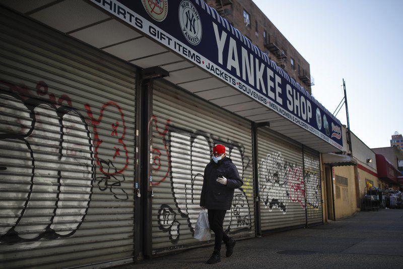 AP PHOTOS: MLB stadiums deserted as virus postpones opening day