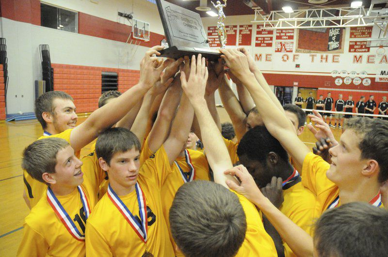 THINKING BACK: Saegertown celebrated three District 10 titles in four days in 2013 —the trifecta