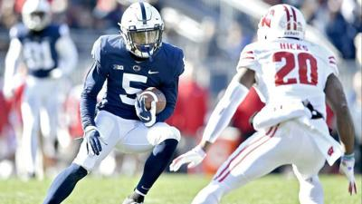 COLLEGE FOOTBALL: Dotson, Parker look to shore up Penn State's receiving corps