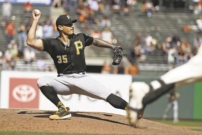 Pirates Giants Baseball