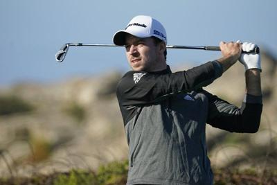 GOLF: Nick Taylor takes lead on glorious day at Pebble Beach