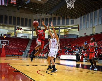 College Basketball Lady Scots Knock Off 15th Ranked