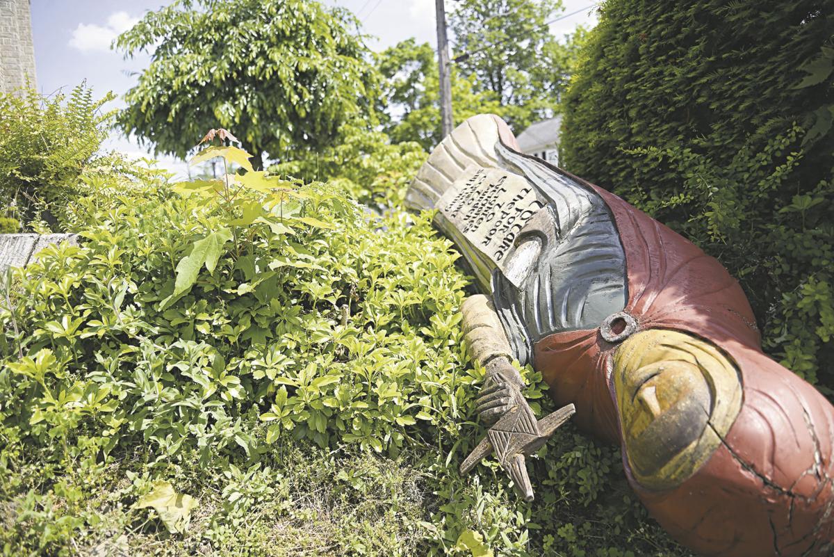 Statue at St. Brigid