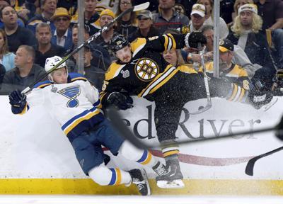 Stanley Cup Blues Bruins Hockey