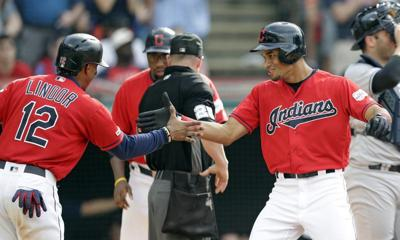 MLB: Mercado homers as Indians beat Yankees
