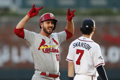 APTOPIX NLDS Cardinals Braves Baseball