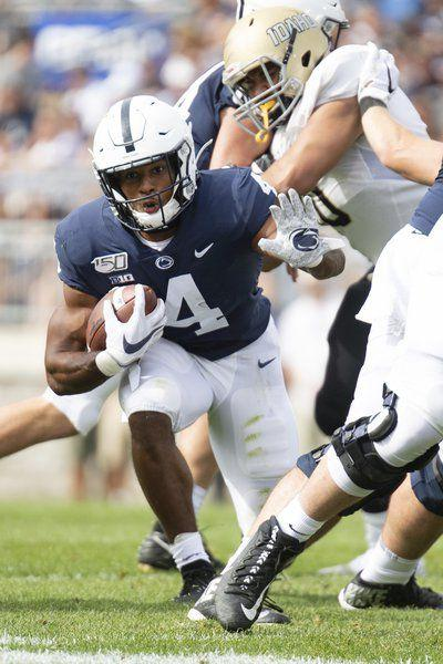 COLLEGE FOOTBALL: No star, no problem for Nittany Lions' backfield