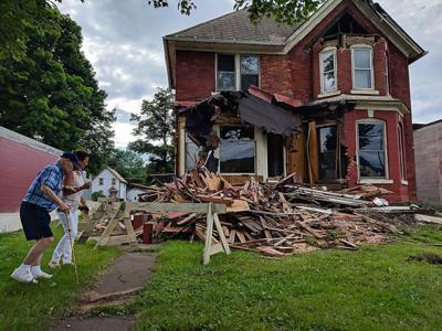 Former Meadville residents lament demolition of longtime