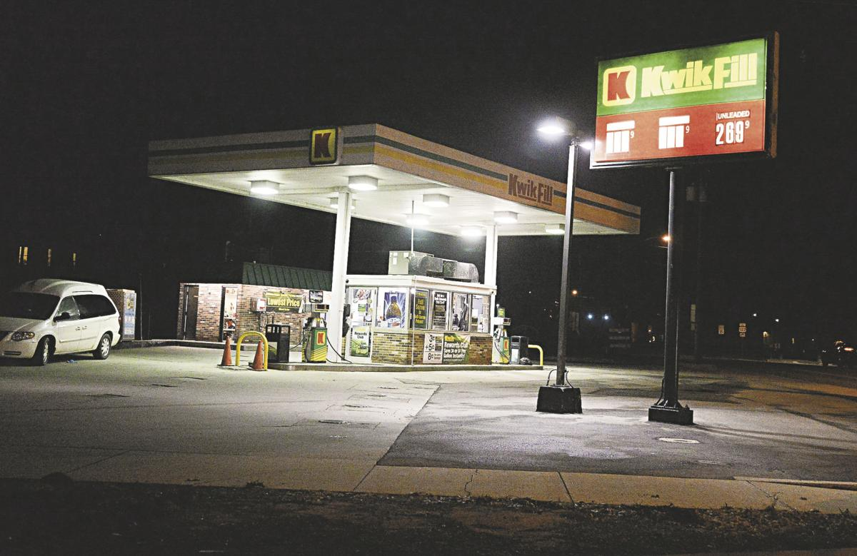 The Kwik Fill On Corner Of Park Avenue And Linden Street Will Be Replaced With A New Facility