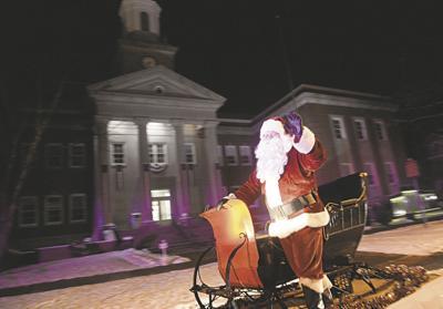 Santa in Meadville