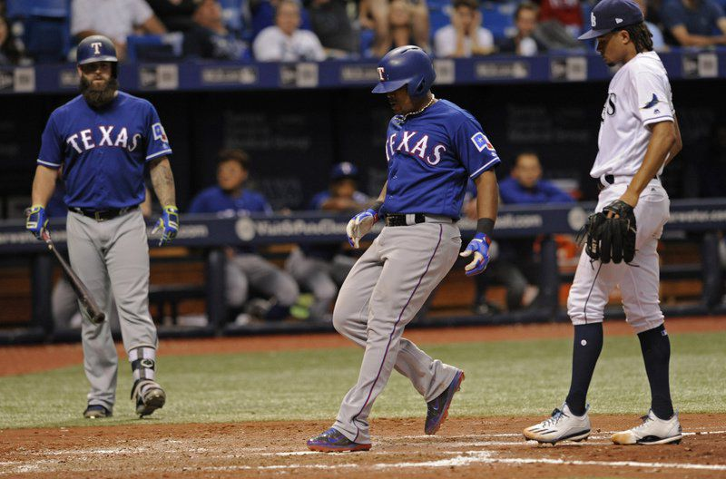 Gallo's two homers help Rangers power past Marlins