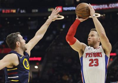 NBA: Griffin, Pistons roll past Cavaliers