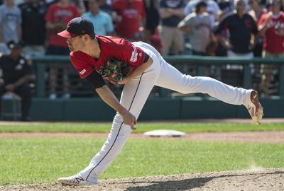 MLB: Bieber leads Indians past Angels to complete sweep