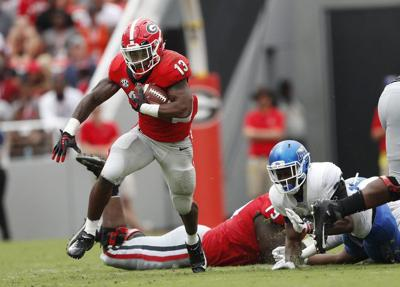 college football no 5 georgia carries on its tradition as running back u - Christmas Day College Football