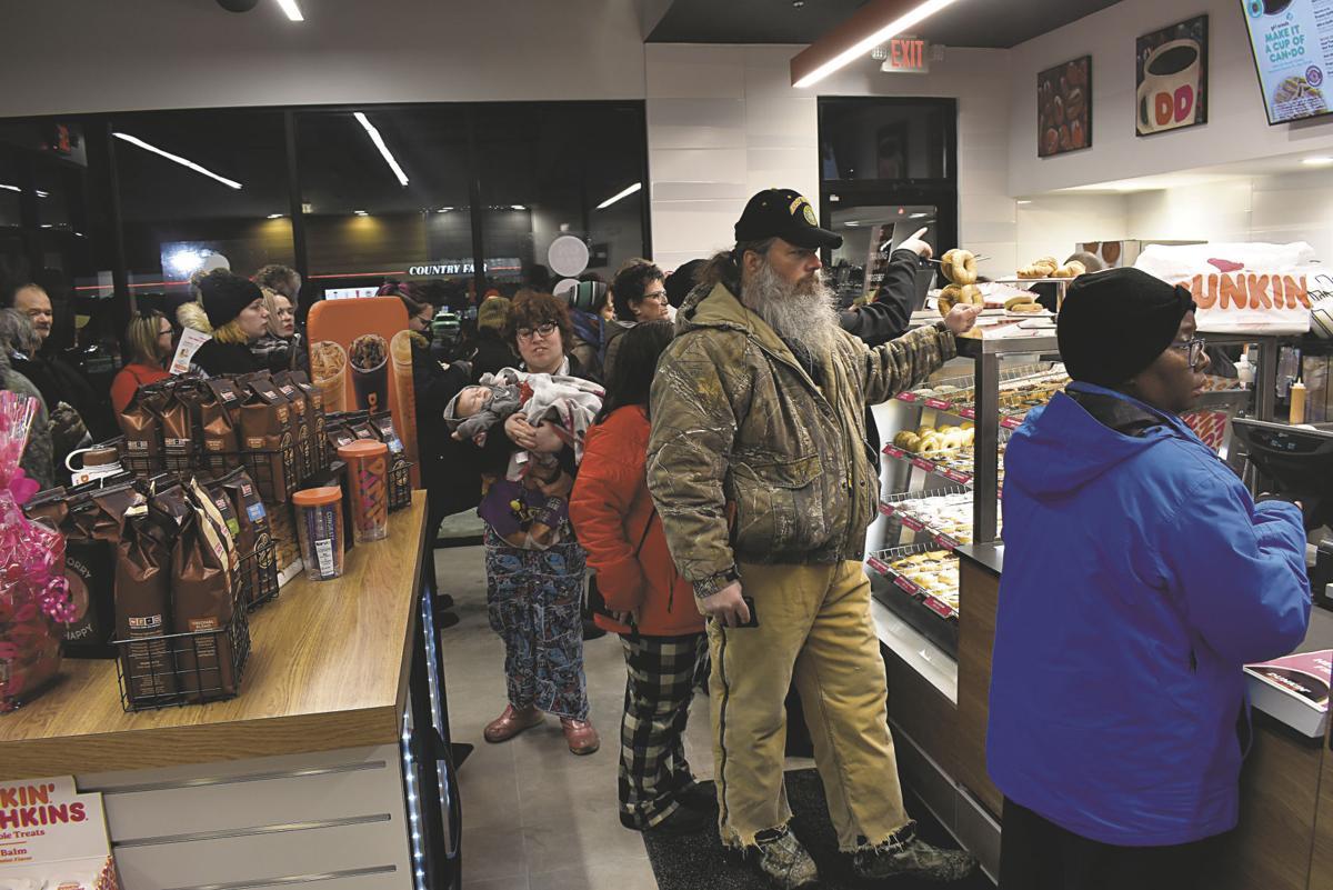 Line inside Dunkin'