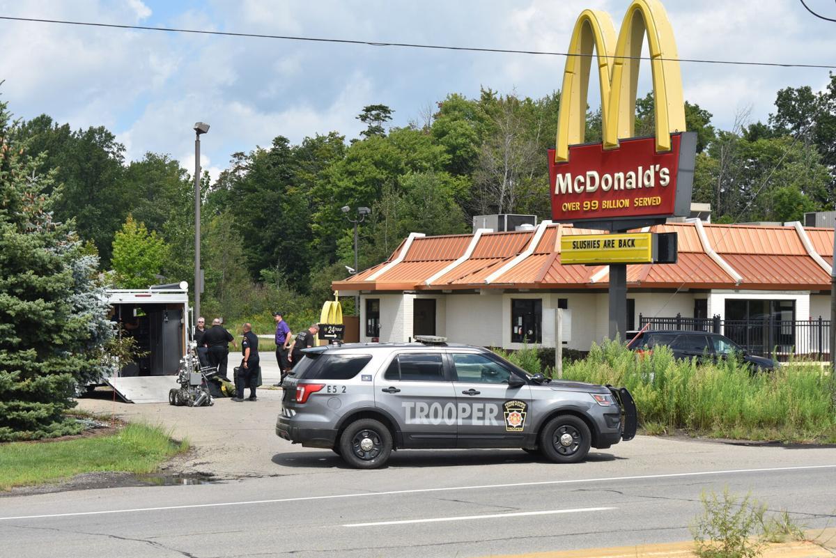 Police at McDonald's